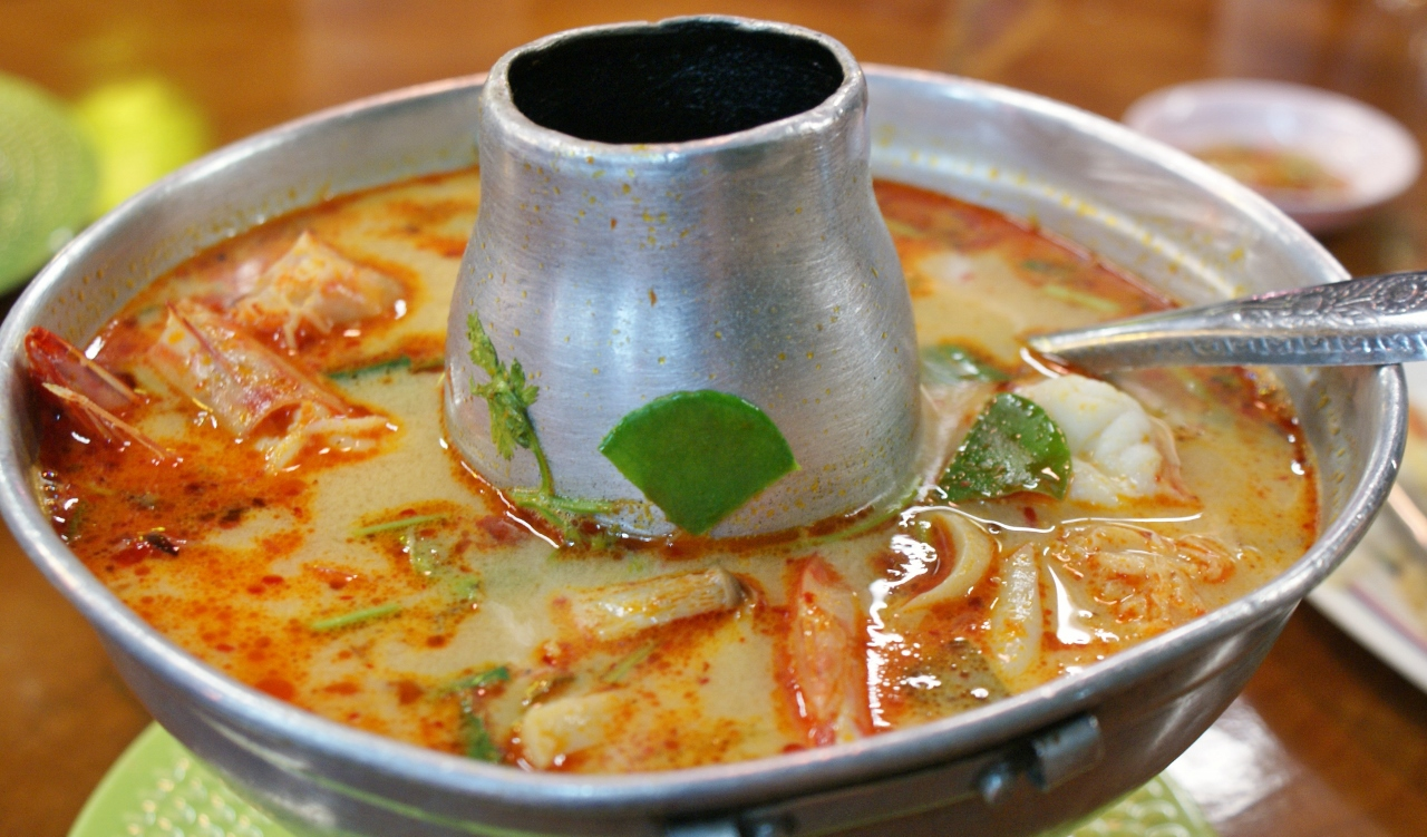 SOUPE THAÏ Tom Yam Goong - la vraie recette thaïlandaise © Balico & co